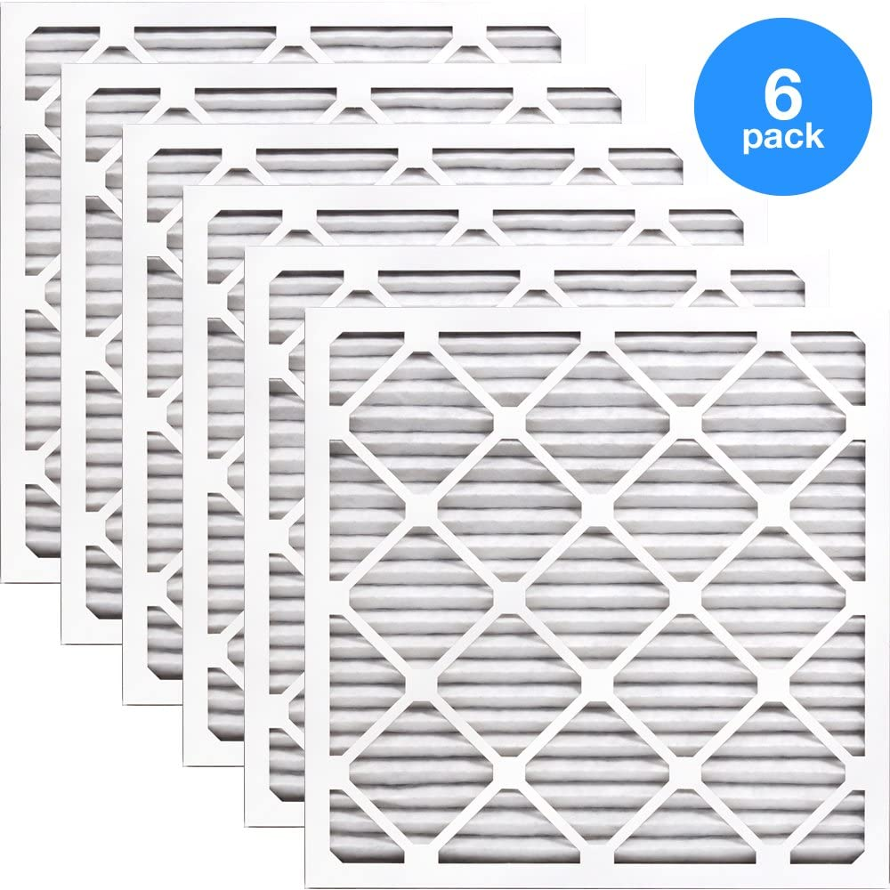 Nordic Pure 8x24x1 Exact MERV 8 Pure Carbon Pleated Odor Reduction AC Furnace Air Filters 1 Pack