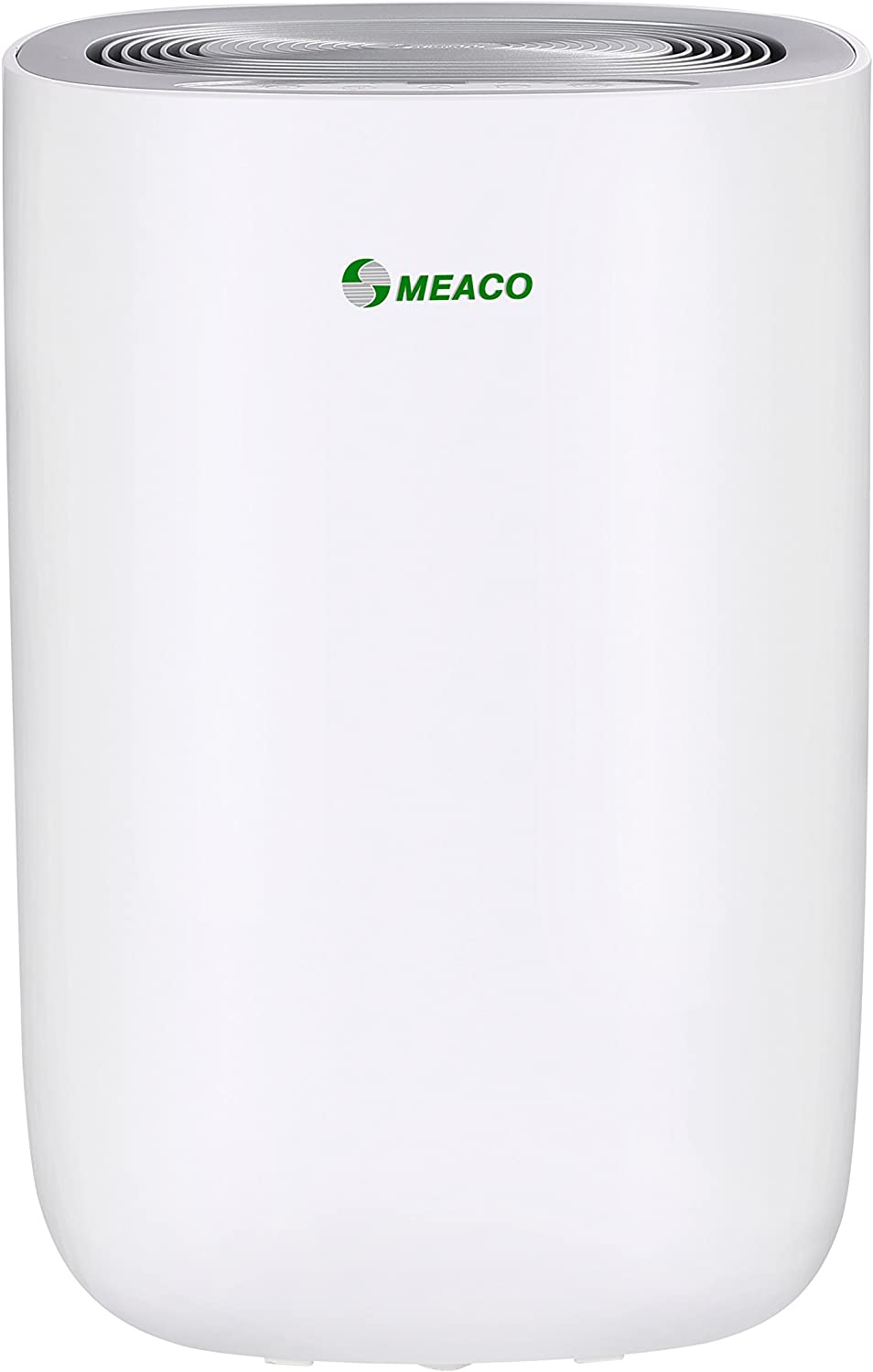 Meaco MeacoDry Dehumidifier ABC Range 12L (Black) Ultra-Quiet, Energy Efficient, Laundry Mode, Auto-off, Choice of Five Colours, Ideal for Damp and Condensation in the Home Silver