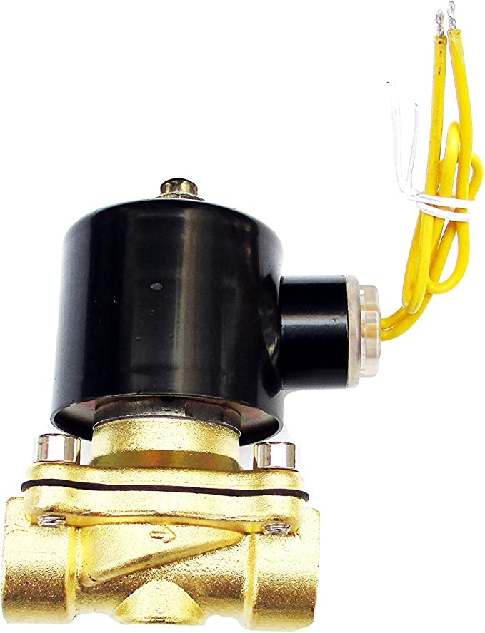 REGULATED 120 VOLT AC SOLENOID WATER VALVE 20-1485-B NORMALLY CLOSED