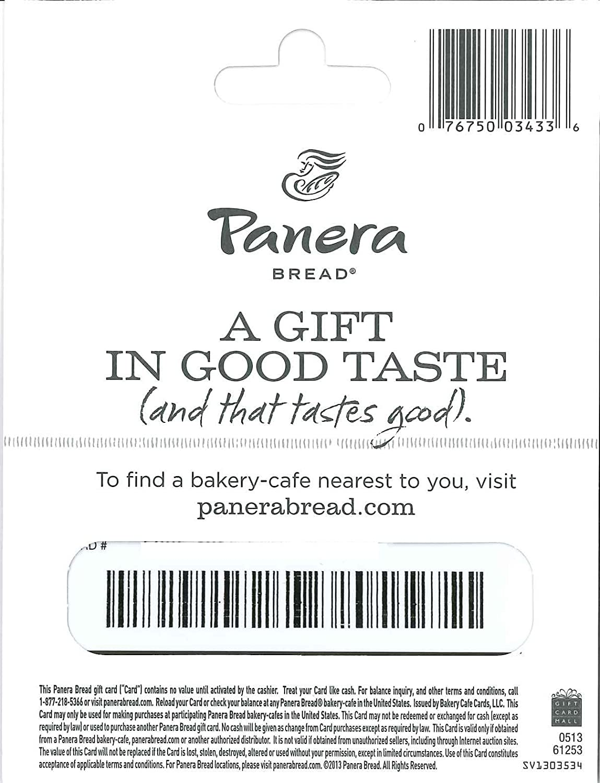 panera b gift card com gift cards