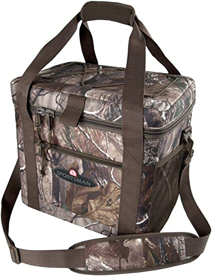 New Carhartt Signature 40 Can Duffel Picnic Cooler Bag with Free Shipping
