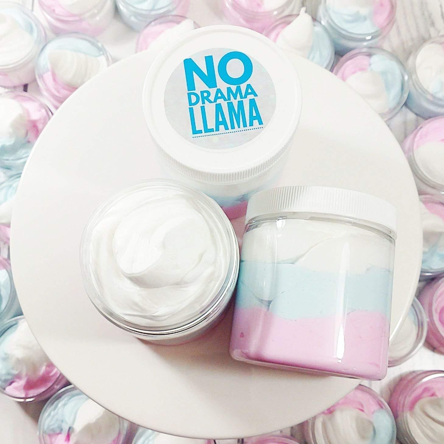 No Drama Llama Whipped Body Butter Lotion Vanilla Birthday Cake Scent Mama