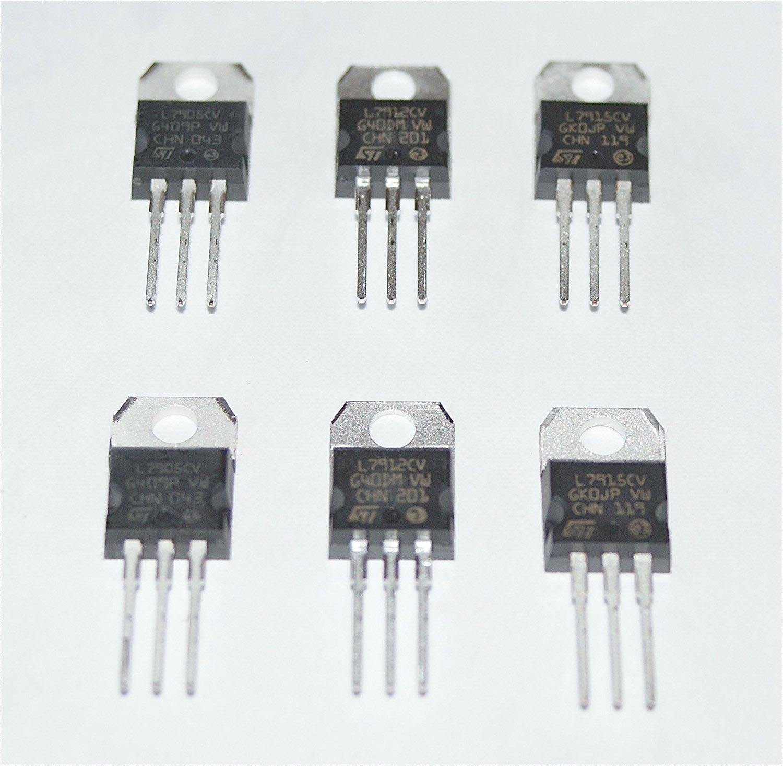 Voltage Regulator Selection 7805 7809 7812 7815 +5V +9V +12V +15V