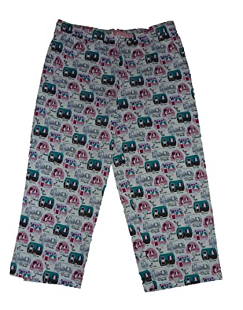 Sleep Sense Womens Happy Camper Sleep Lounge Pajama Pants (Small)