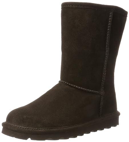 Bearpaw Women's Elle Short Boots, Braun (Chocolate Ii), 3 UK