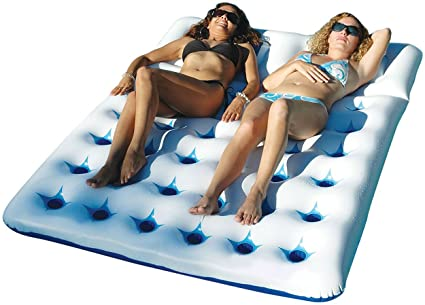 Amazon.com: jnwd piscina inflable colchón doble tamaño ...