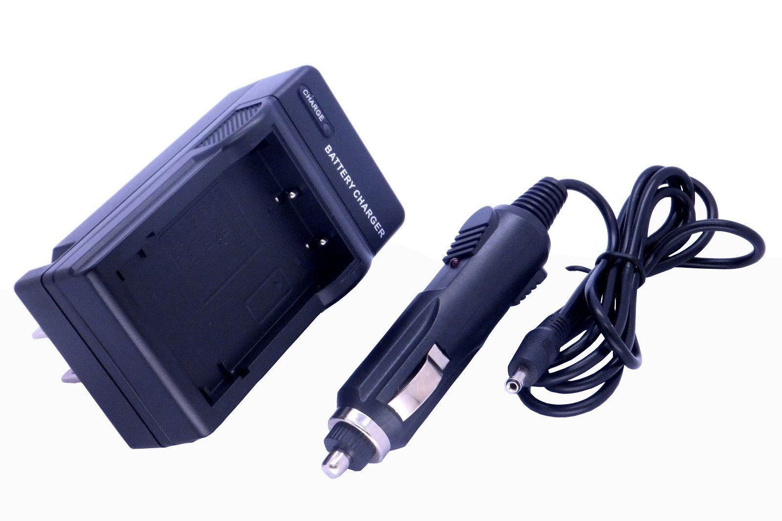 Home / Travel Charger with Car Adapter for Fuji NP-60 Camera/Camcorder (Fuji np40, np60, np95, np120, Samson SLB-0837, Panasonic S004E, Kodak K5001) by CyberTech