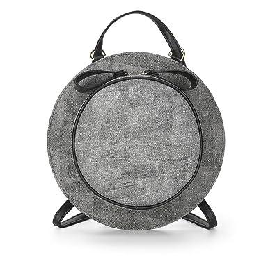 3370a204d692 Amazon.com | Saumota Fashion Round Shape Backpack Shoulder Bag ...