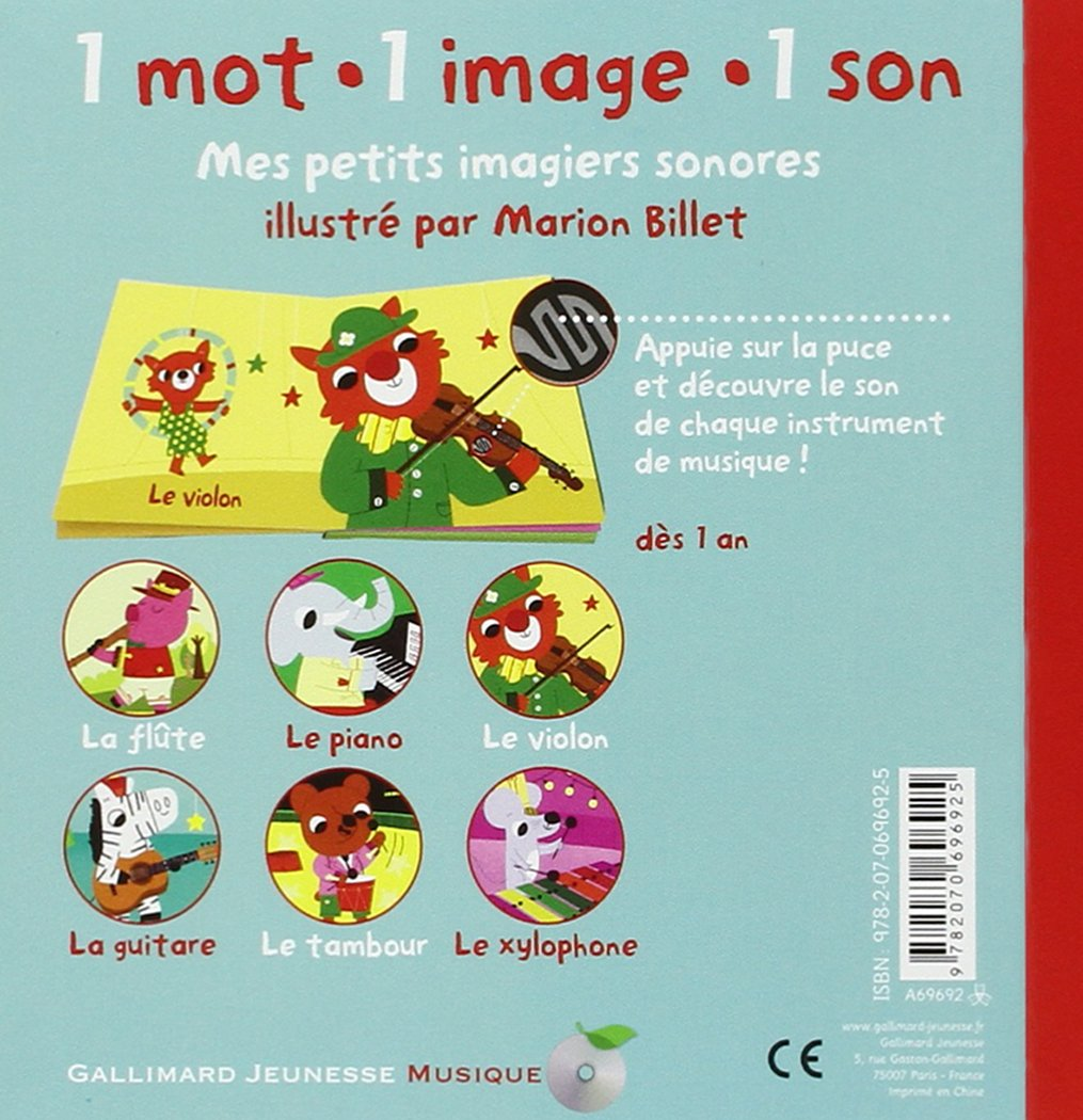Les Instruments Marion Billet 9782070696925 Amazon Com Books