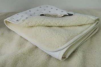 Edredón pura lana de oveja merina esponjada Natural y cálida manta de lana de merino de manta (140_x_200_cm , White): Amazon.es: Hogar