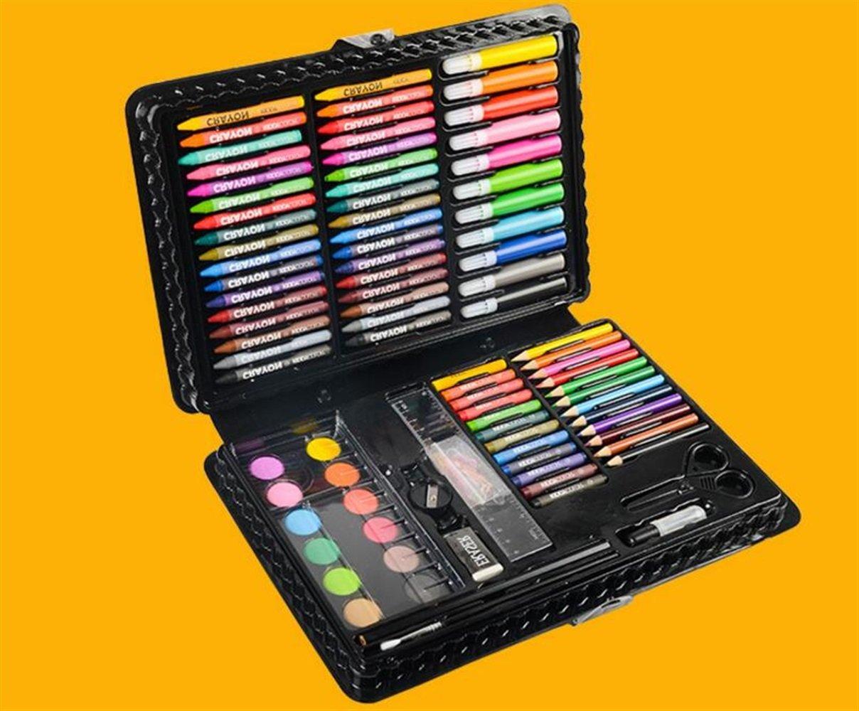 20b33ebadf58 Lápices de Colores 109 Unids Dibujo Arte Conjunto de Pintura de Colores  Lápices Marcadores Pincel de Pintura Aceite Pastel Crayon Kit Ideal para  Artistas: ...