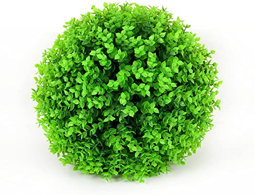 Lispeed D/écoration Artificielle Boule de Buis Mini Artificiel Plante Artificielle Vert Gras Bonsa/ï pour Mariage//Bureau D/écoration de Maison