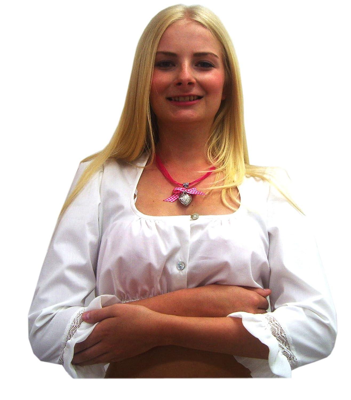Damen Dirndlbluse creme 3/4 Arm Trachtenbluse Spieth & Wensky