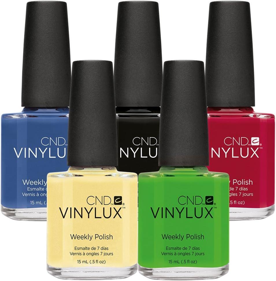 CND Viny Lux esmalte de uñas gel – Pack de ahorro 2 – 5 por el precio de 3: Amazon.es: Belleza