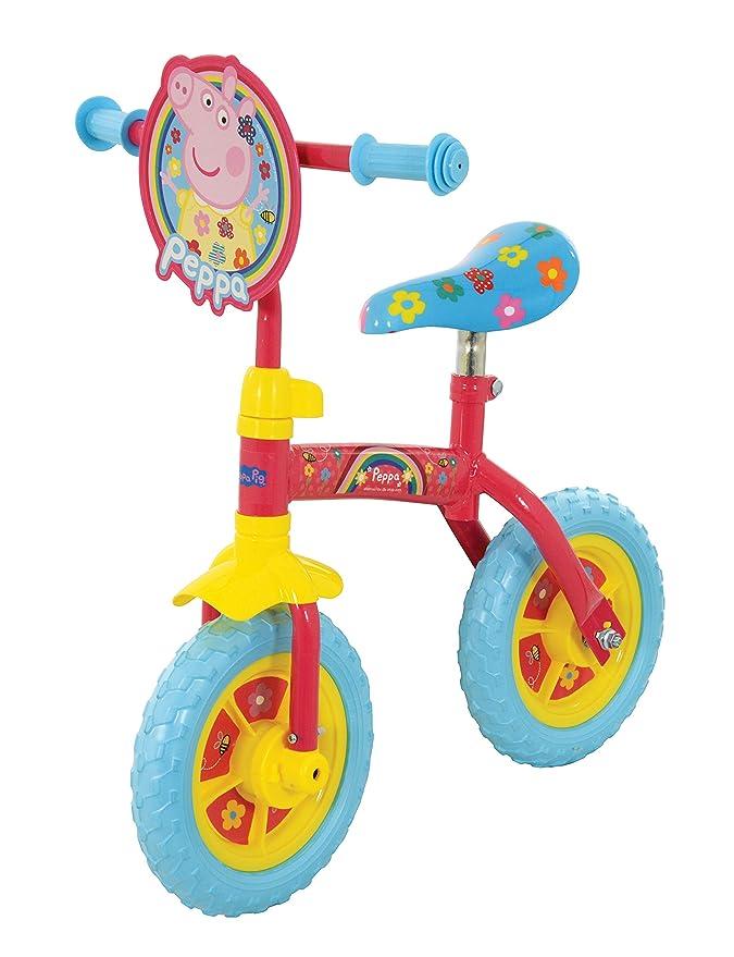 Peppa Pig M14705 2in1 - Entrenamiento para Bicicleta, 25,4 cm