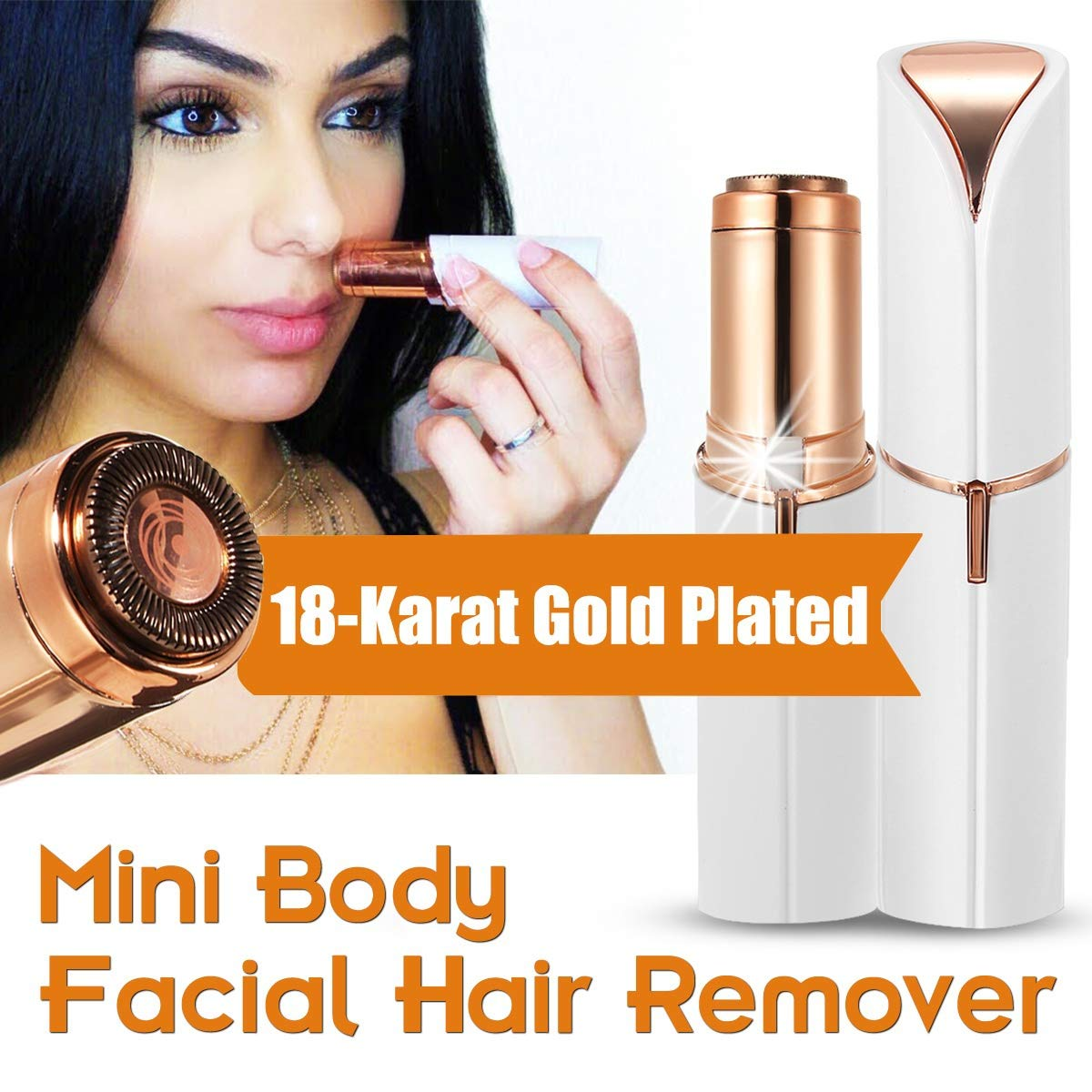 Women's Painless Portable Hair Remover Ladies Electric Women's Facial Hair China