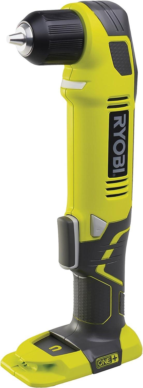 Ryobi One+ - Taladro con empuñadura de pistola de ángulo recto (18 V, sin accesorios)