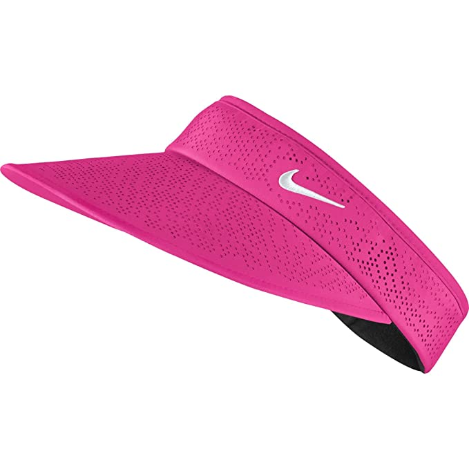Nike Golf Women s Big Bill Visor Pink POW Pink POW White  Amazon.in   Clothing   Accessories 56c2c8592a61