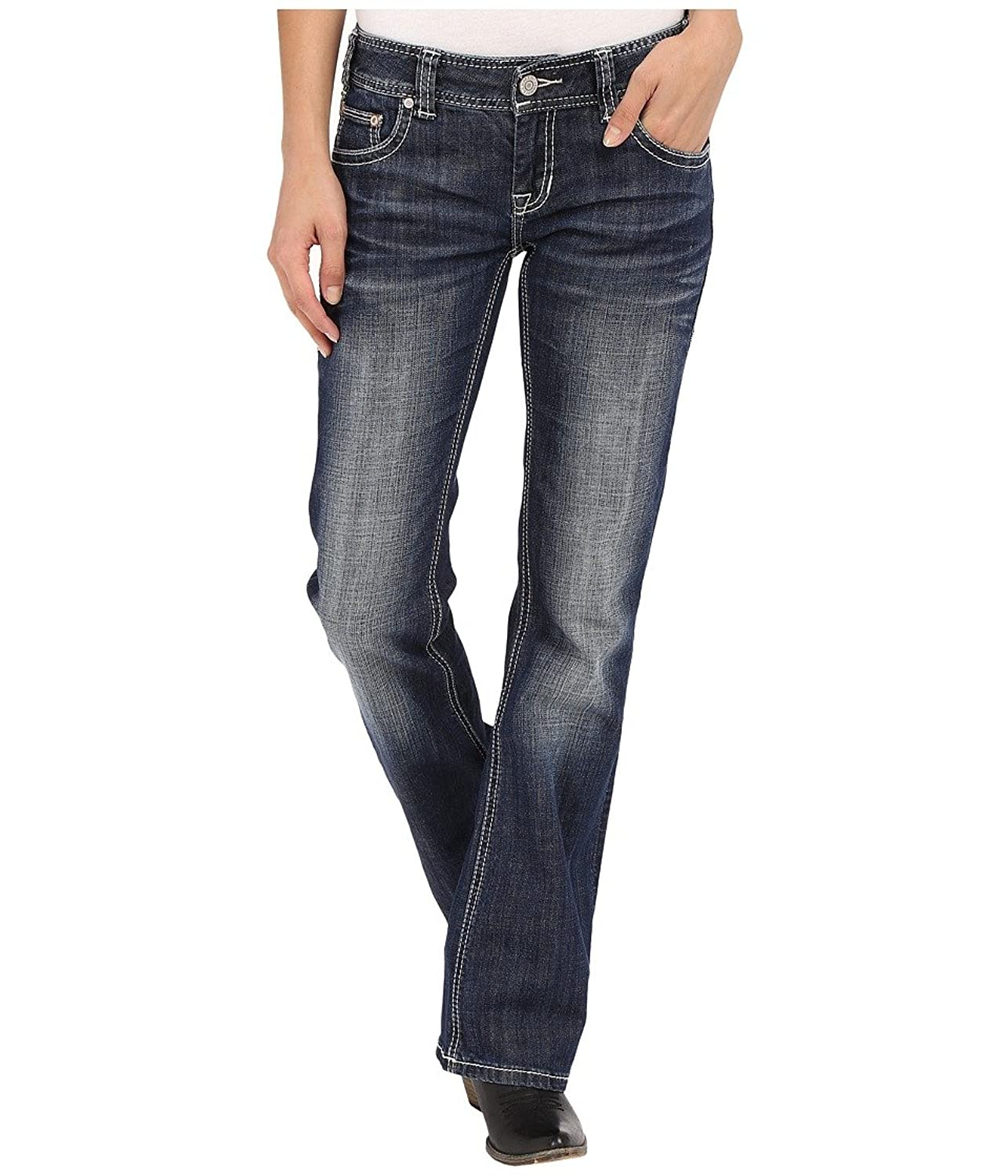 Rock and Roll Cowgirl Women's Low Rise Bootcut in