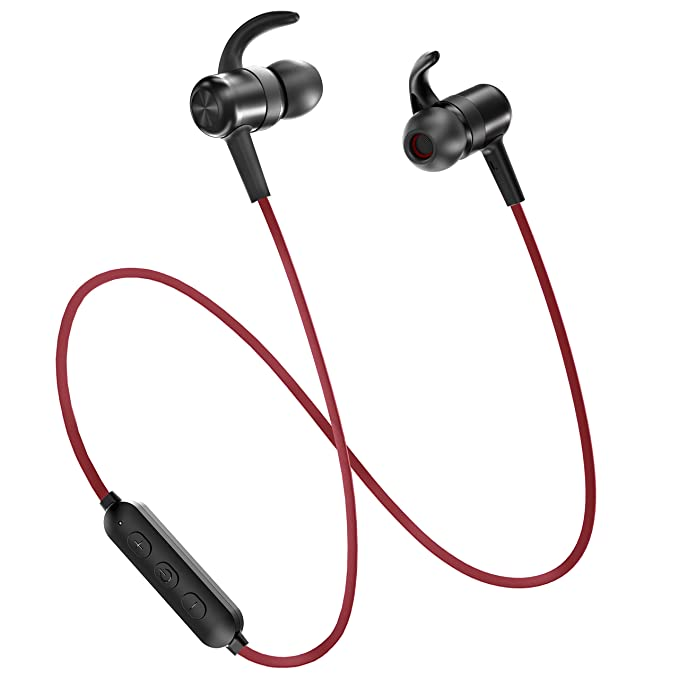 c3357162133 Bluetooth Headphones, TaoTronics Wireless Earbuds Sport Earphones 9 Hours 4.2  Magnetic Lightweight & Fast Pairing