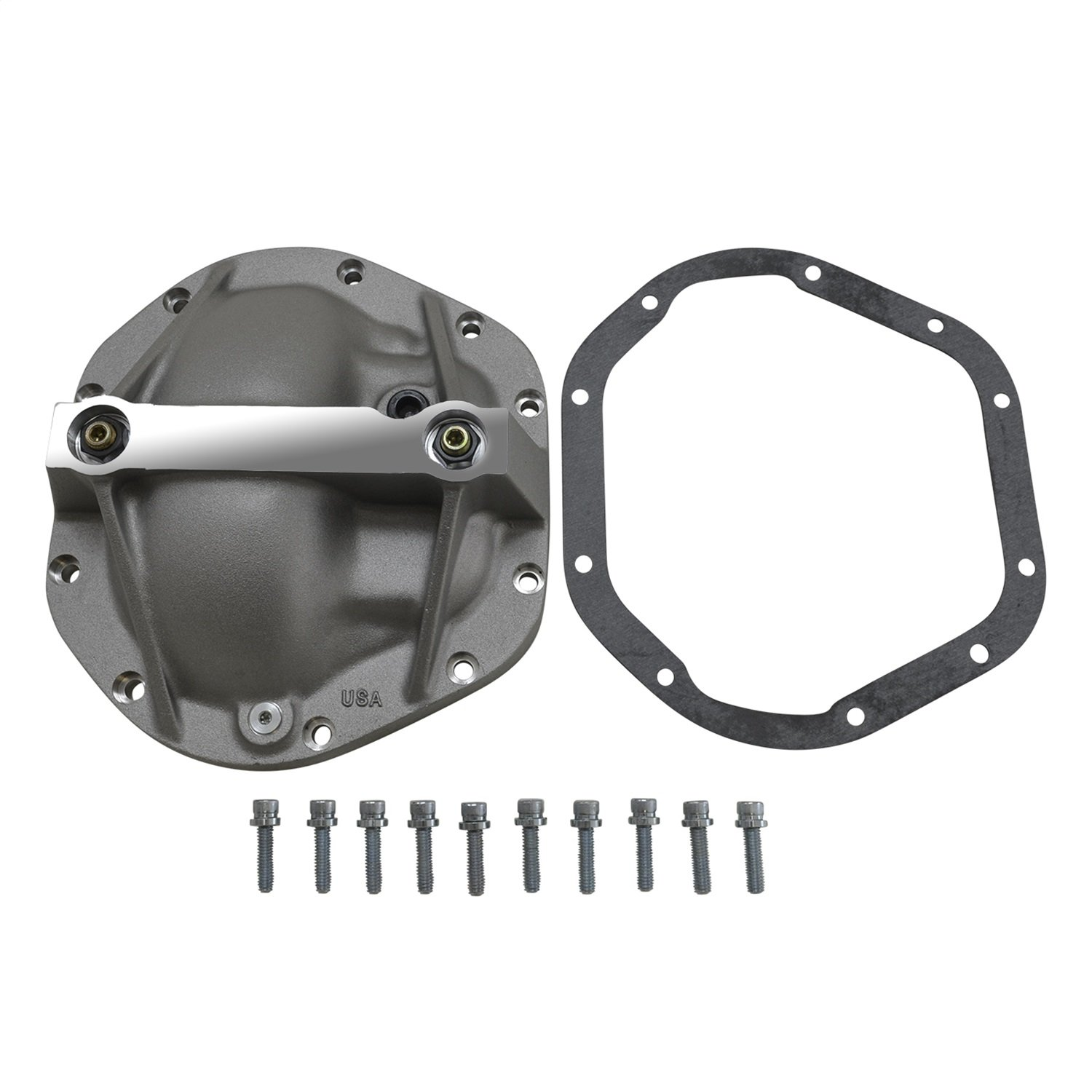 Yukon (YP C3-D44-STD) Aluminum Replacement Girdle Cover for Dana 44 TA HD Differential