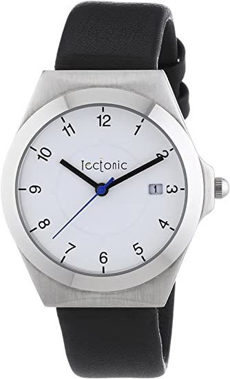 Tectonic 41-6103-14 - Reloj de Cuarzo Unisex, Color Negro