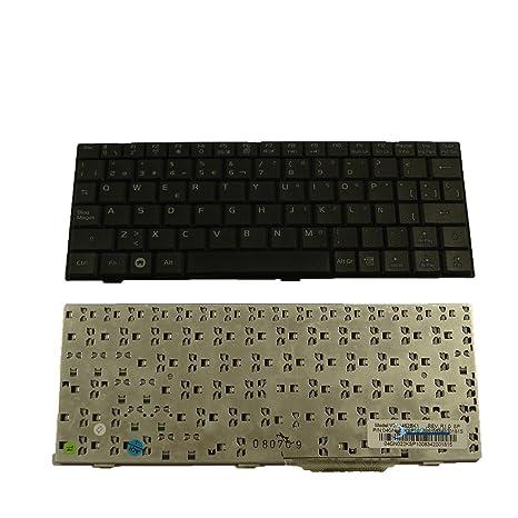 Teclado Español QWERTY negro para ordenador portátil ASUS EEE PC 900 - Visiodirect -