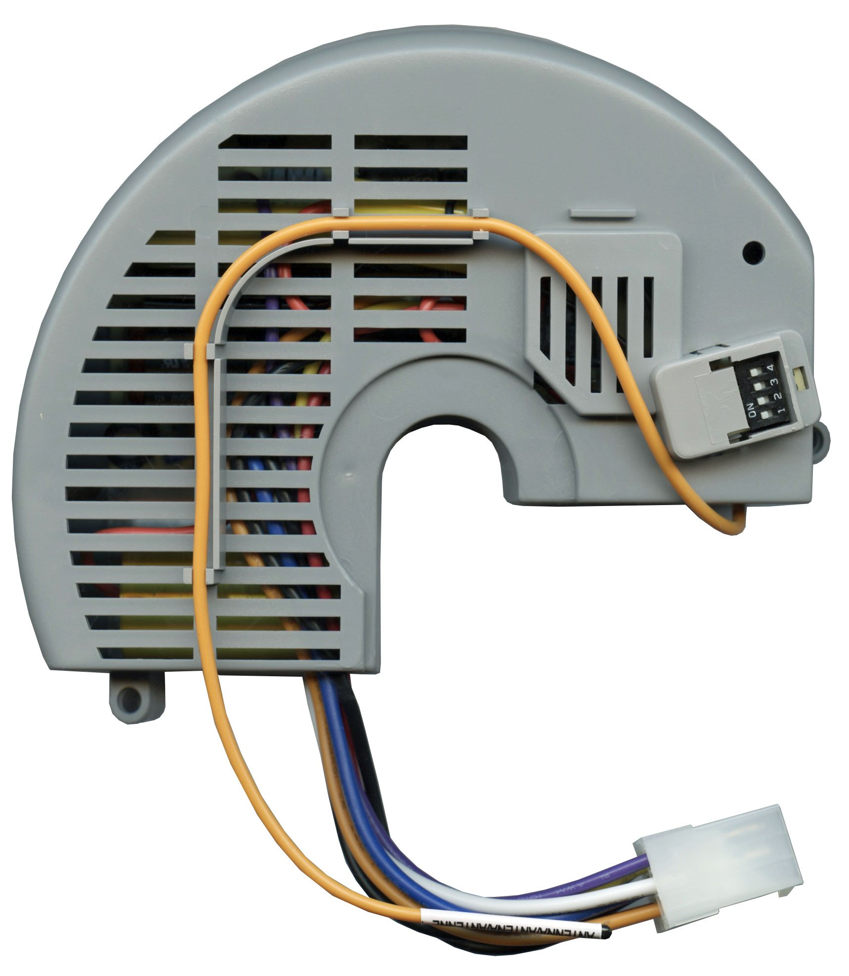 Anderic Replacement for Hampton Bay FAN10R Ceiling fan Receiver (FAN-10R, used with Hampton Bay FAN9T, FAN-9T Thermostatic Remote) - Controls Fan Reverse, High, Medium, Low, Off and Lights