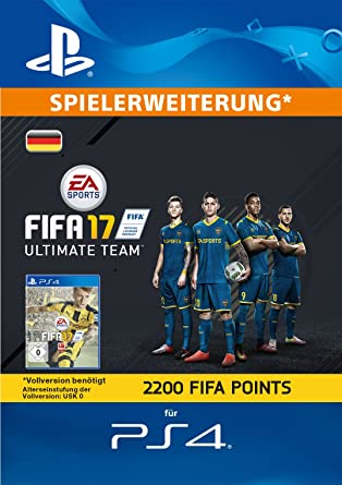 Fifa 17 Ultimate Team 2200 Fifa Points Playstation Network Code