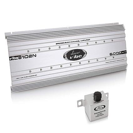 2 channel car stereo amplifier - 6,000 watt dual channel bridgeable audio  sound auto speaker amp