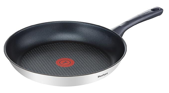 Tefal Daily Cook - Sartén de 28 cm, antiadherente de acero inoxidable, para todo tipo de cocinas incluido inducción: Amazon.es: Hogar