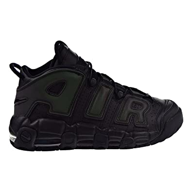 premium selection 5afab b33a9 Nike Kid s Air More Uptempo SE GS, Black Black-Wolf Grey, Youth Size 3.5   Amazon.co.uk  Shoes   Bags