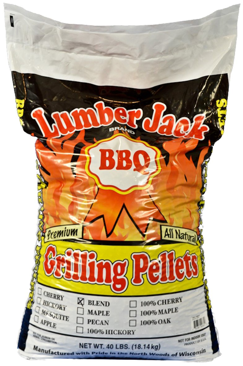 Lumber Jack 5086 40-Pound BBQ Grilling Wood Pellets, Maple, Hickory and Cherry Blend