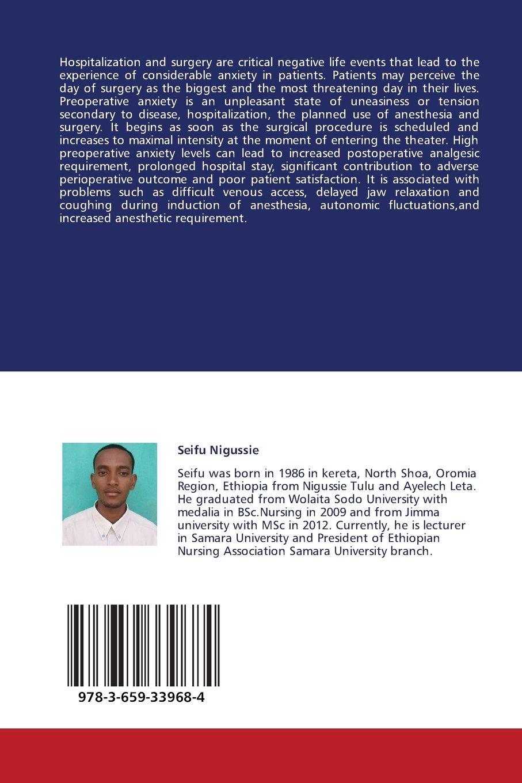 Predictors of Preoperative Anxiety: Amazon co uk: Seifu Nigussie