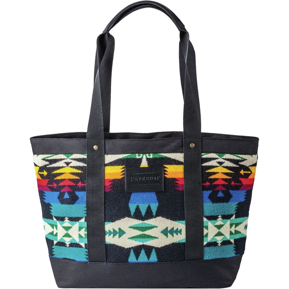 Pendleton Women's Zip Tote, Tucson Black, One Size