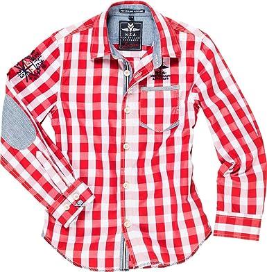 New Zealand Auckland Junior Camisa de cuadros para niño ...