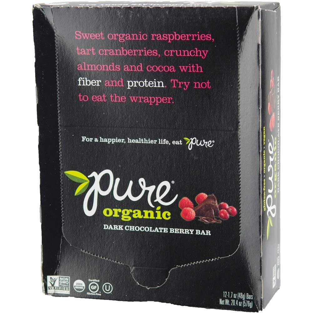 Kashi Pure Organic Fruit and Nut Dark Chocolate Berry Fruit and Nut Bar, 1.7 Ounce -- 144 per case. by Kashi (Image #4)