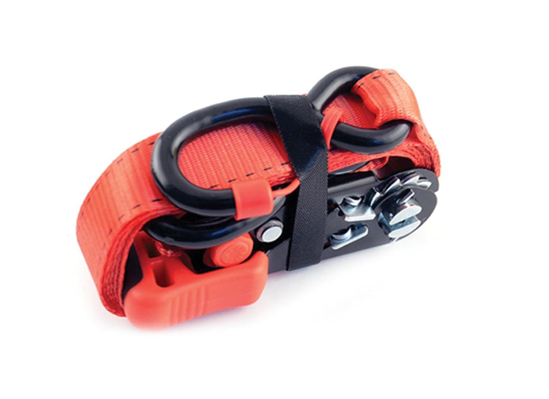 2 Pack with Cap Locks, 1 1//4 x 8, 2000 lb. Erickson 31423 Sliding Ratchet Strap