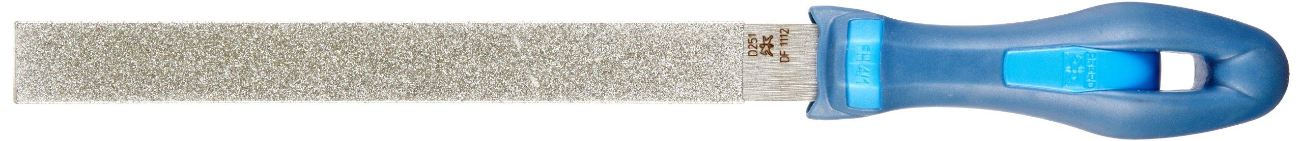 PFERD Machinist Hand File, Diamond Grit, Rectangular, Very Coarse, 8'' Length by Pferd