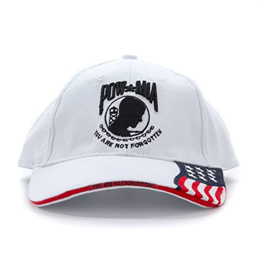 8d43c17cd1a Embroidered USA Flag POW-MIA You are Not Forgotten 100% Cotton Adjustable Baseball  Cap