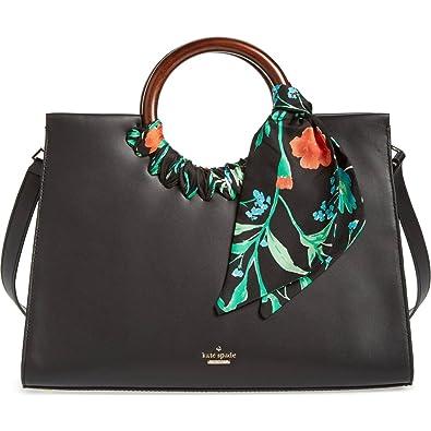 fe68f991de Amazon.com  kate spade new york Ridgefield Street Katarina Leather Satchel  Shoulder Bag