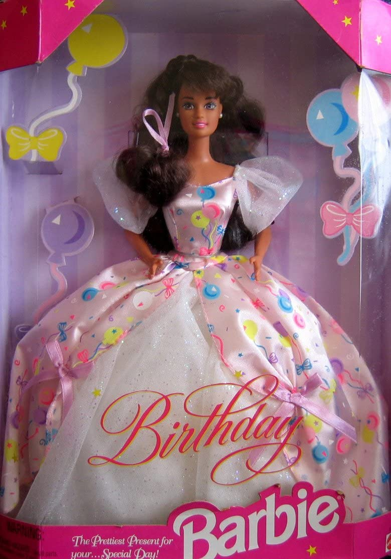 Birthday Barbie Doll Brunette - For Prettiest Factory outlet Present OFFicial store Your...