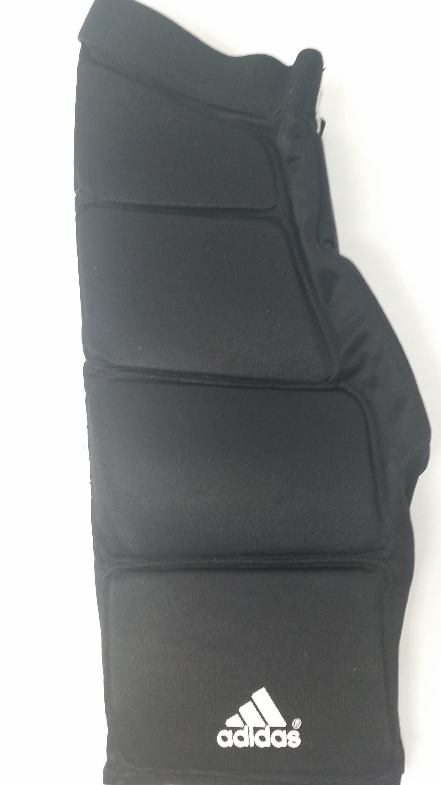 adidas New 7390107 Adult X-Large Black Goalie Protective Pants GP.209 Lacrosse by adidas (Image #2)