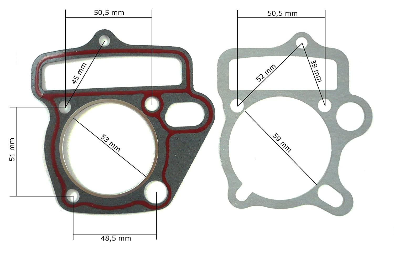 Lifan 125 ccm HMParts Dirt Bike Quad Top End Dichtsatz Zylinderkopfdichtung