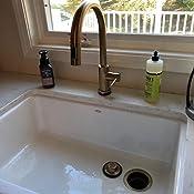 Brand New Kitchen Sink Drains Slowly