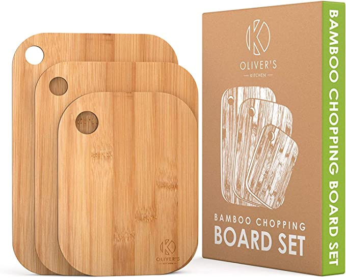3 Styles Chopping Board Cutlery Tray Slicing Rack New Bamboo Wooden Kitchenware