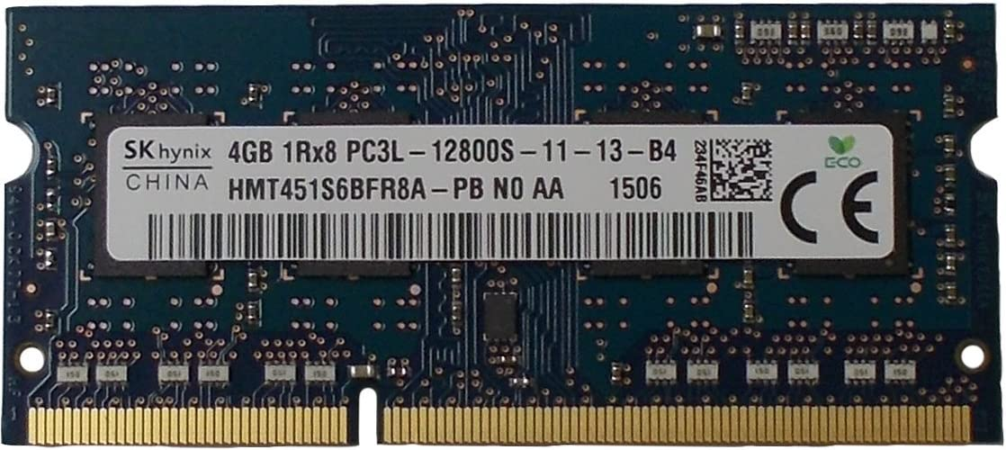 Ram memory 4GB(1 x 4GB) DDR3 PC3-12800,1600MHz, 204 PIN SODIMM for laptops