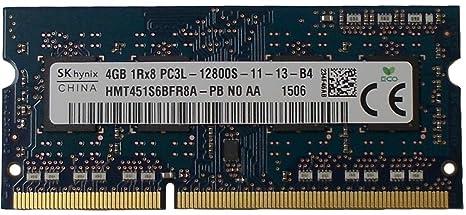 SK Hynix HMT451S6BFR8A-PB NO AA 4GB 1600MHz DDR3 PC3-12800 204 Pin SO-DIMM Laptop RAM Internal Memory Card Readers at amazon