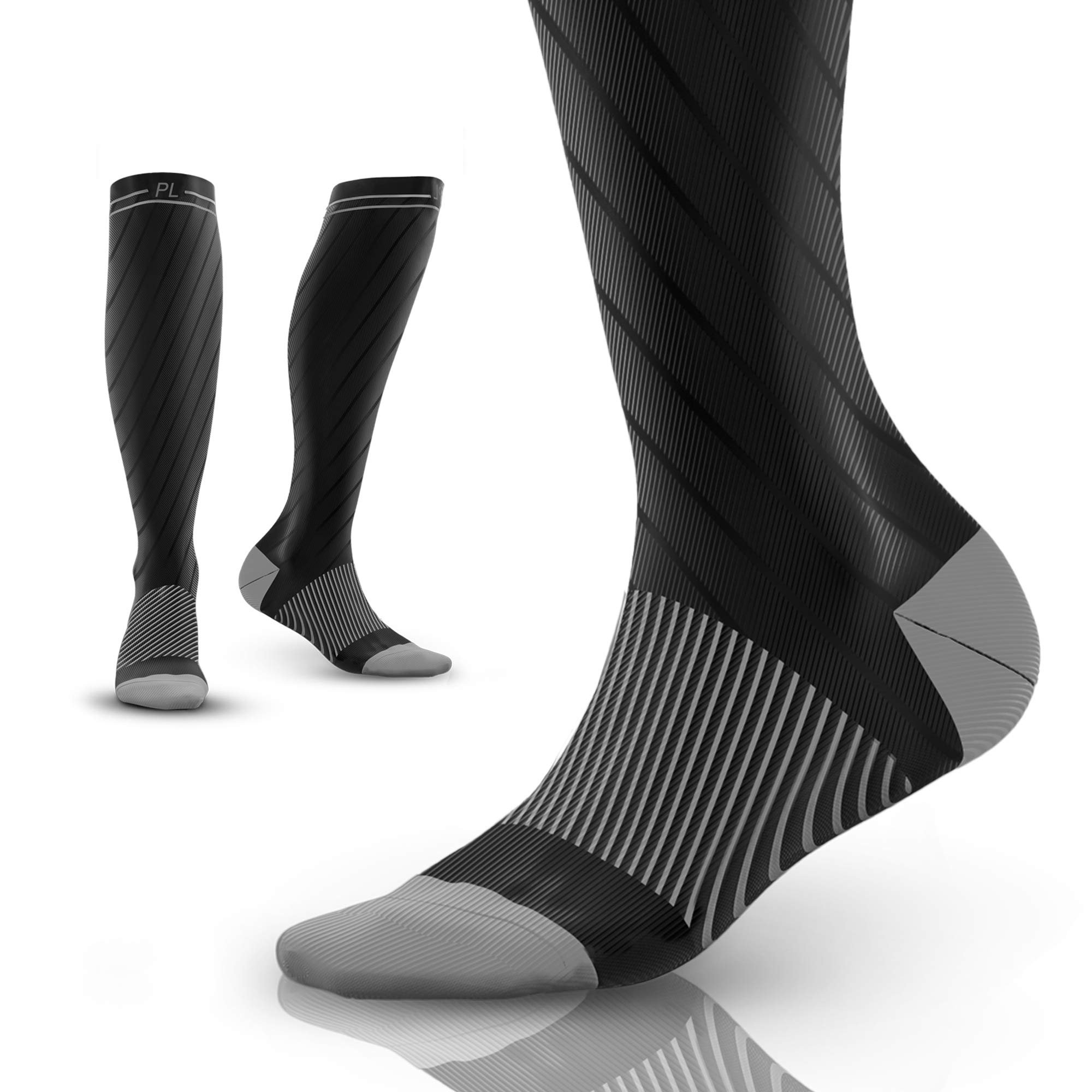 4225d167113f7 PowerLix Compression Socks for Men   Women – 20-30 mmHg Medical Stockings  Support Circulation