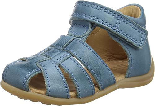 Bisgaard Lauflernschuhe Sandale 71206.118.603-1 Sky Blue NEU